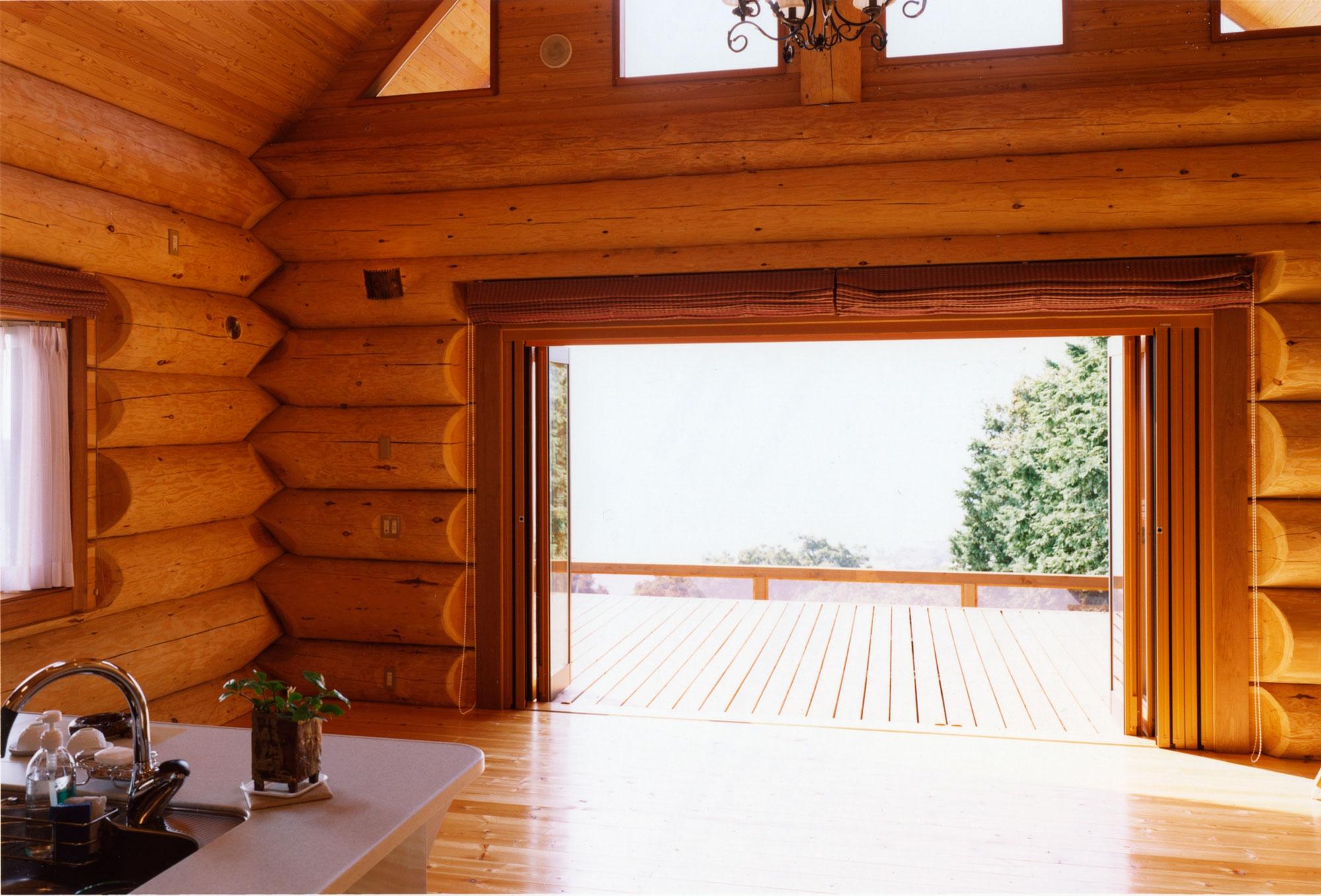 2007年度 「日本ログハウス・オブ・ザ・イヤー 住宅別荘部門ハンドカット優秀賞」 受賞 神奈川県 K邸